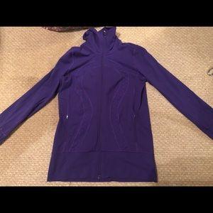 Lululemon scuba jacket gently used sz 10